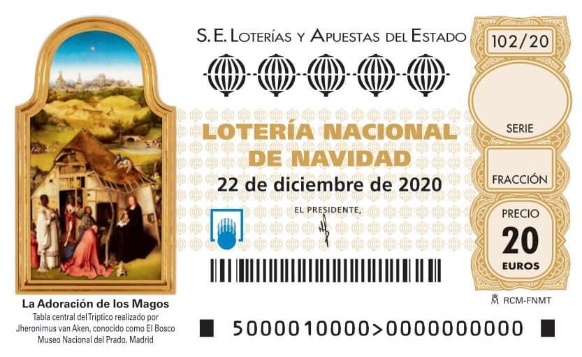 ¡Ya tenemos loteria de navidad!